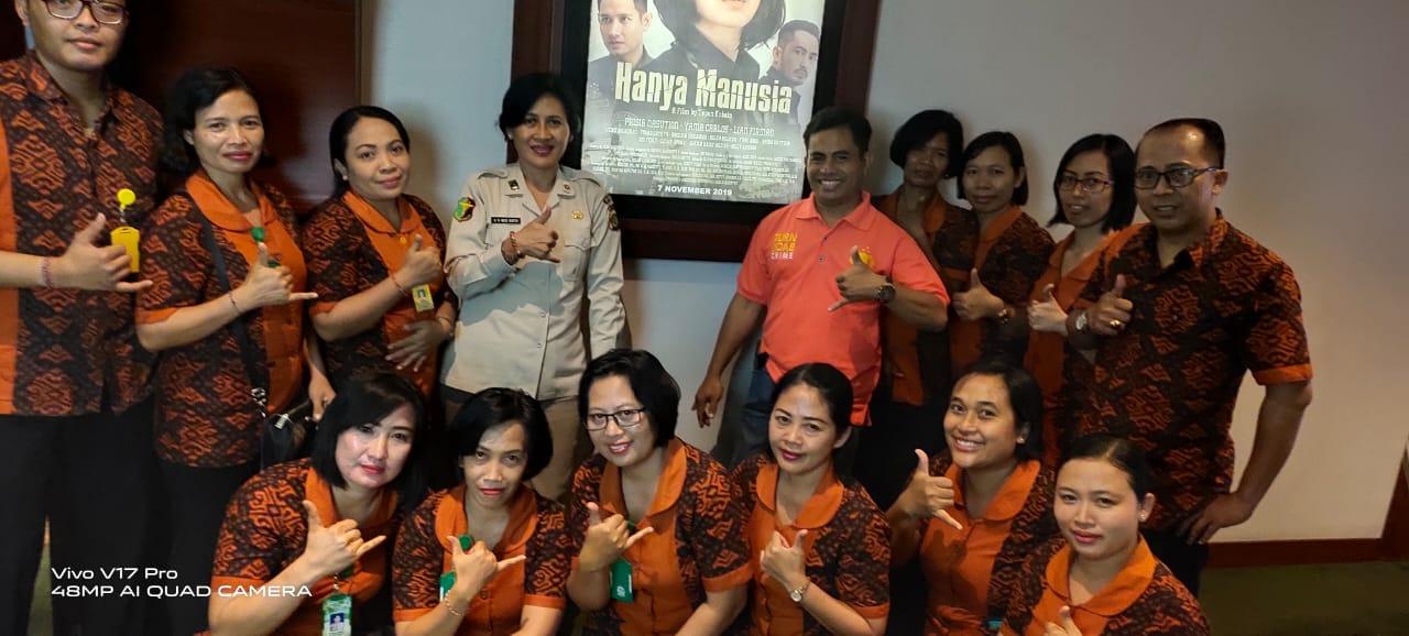 Rumah Sakit Bhayangkara Denpasar Nonton Bareng Film Layar ...